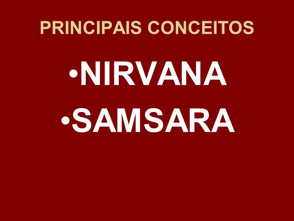 PRINCIPAIS CONCEITOS NIRVANA SAMSARA