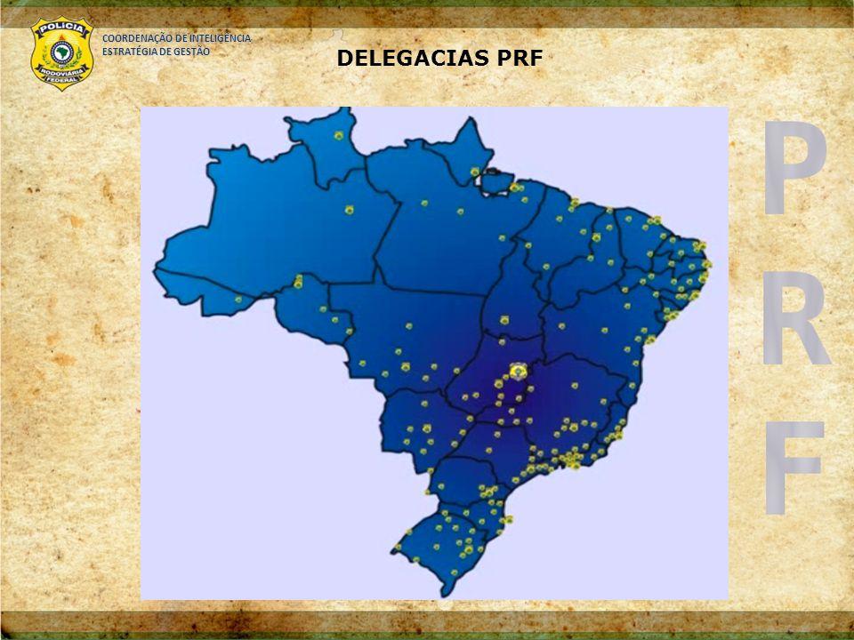 COORDENAÇÃO DE INTELIGÊNCIA ESTRATÉGIA DE GESTÃO DELEGACIAS PRF