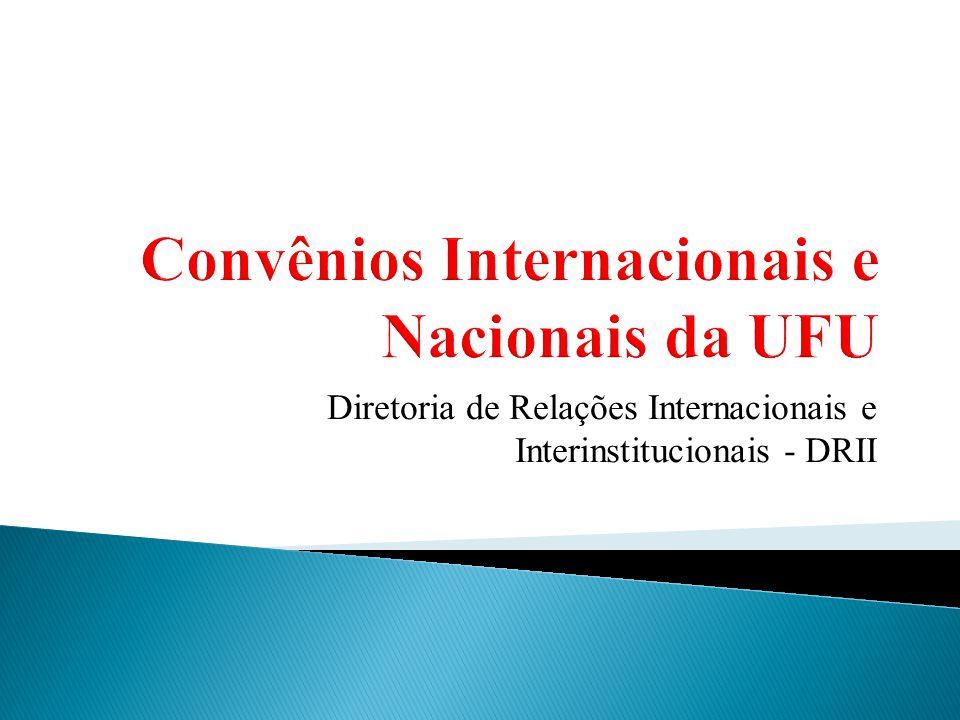 Diretoria de Relações Internacionais e Interinstitucionais - DRII