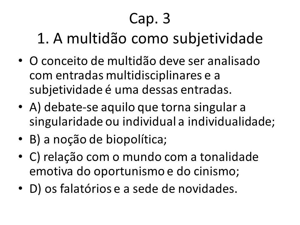 Cap. 3 1.