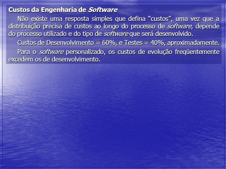 Pontos principais A Engenharia de Software é uma disciplina da engenharia que se ocupa de todos os aspectos da produção de software.