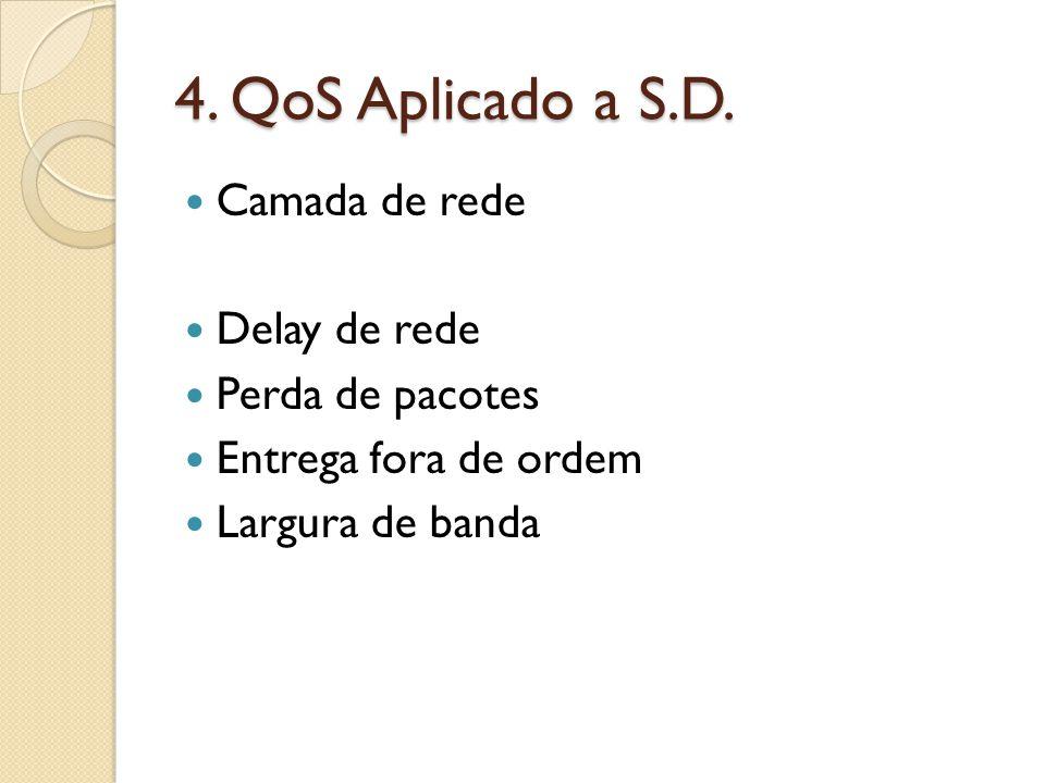 4. QoS Aplicado a S.D.