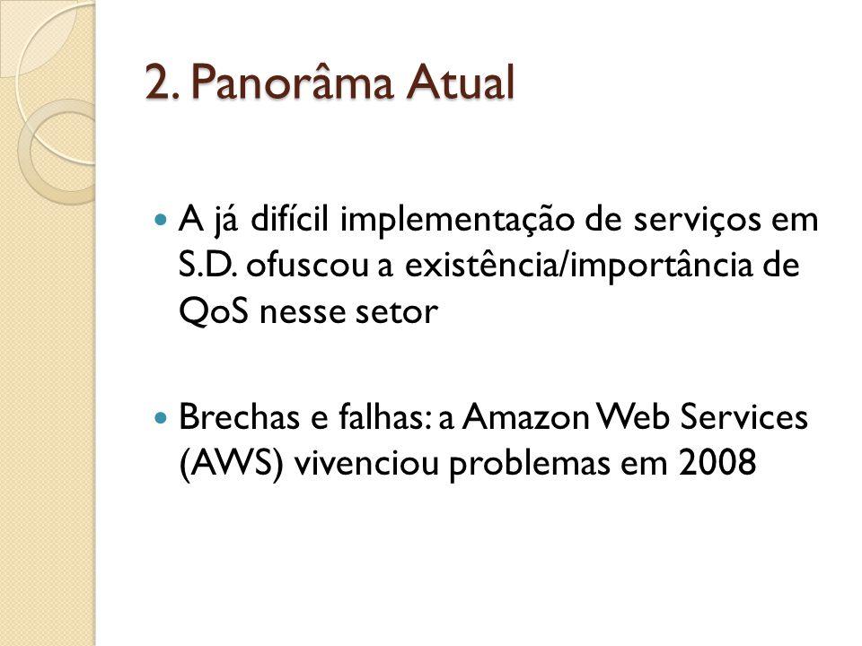 2. Panorâma Atual A já difícil implementação de serviços em S.D.