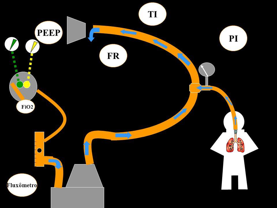 ______________ Fluxômetro PEEP PI FR TI FiO2