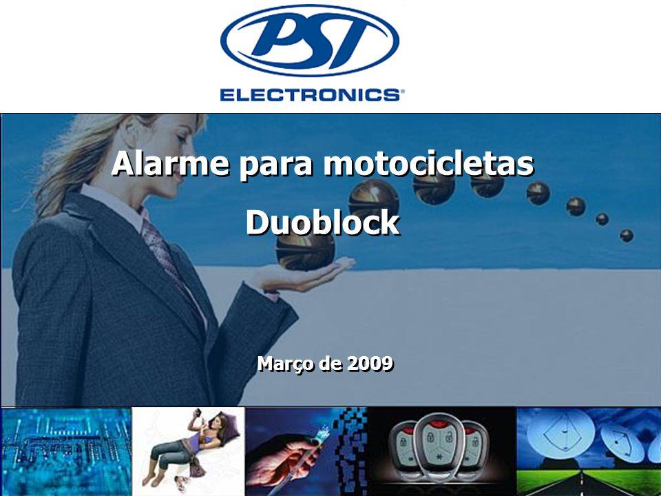 0 Alarme para motocicletas Duoblock Alarme para motocicletas Duoblock Março de 2009
