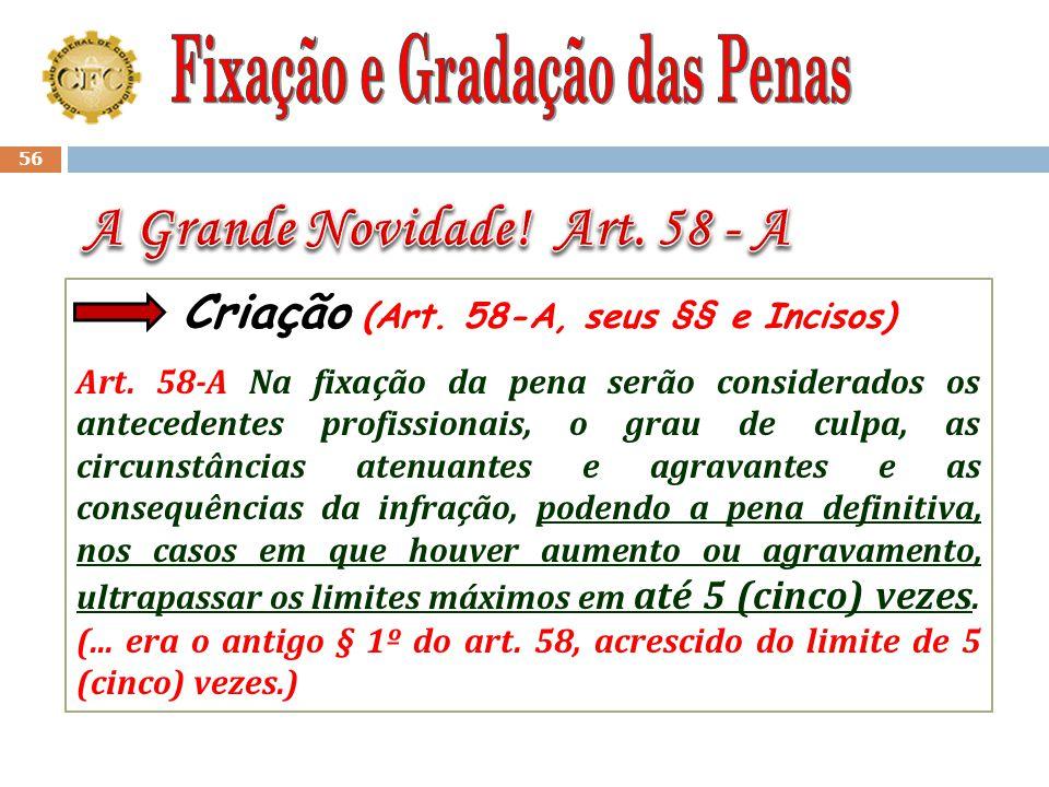 55 § 2º - As penalidades previstas nos incisos II, III e IV poderão ser aplicadas isoladamente ou cumuladas com as previstas nos incisos I e V, quando