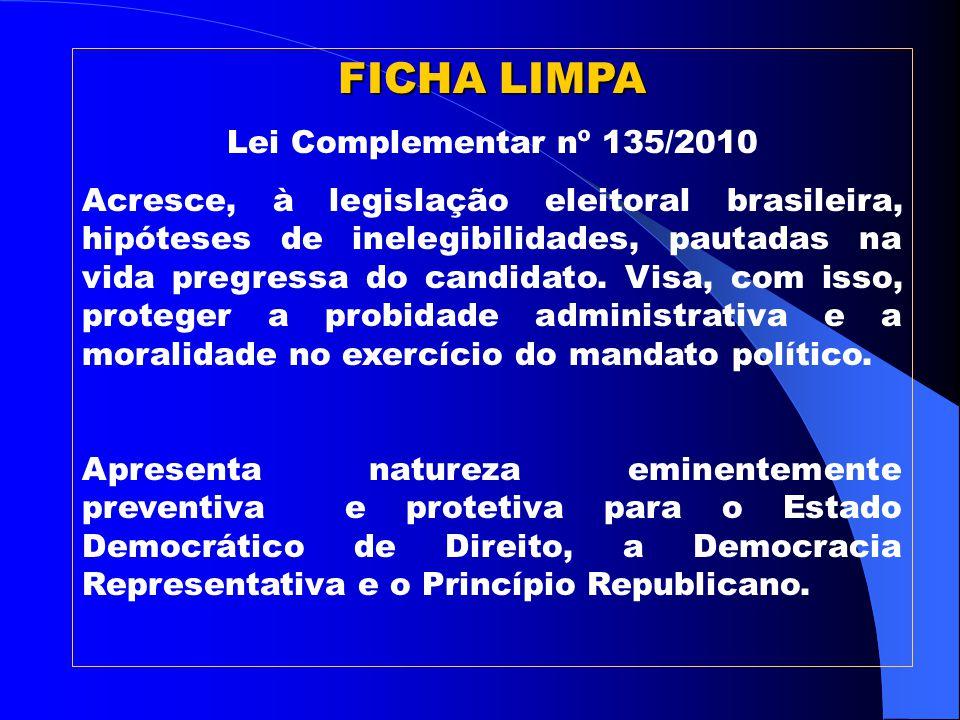 A cada 32.854 votos que o partido ou coligação obtiverem indicam um Deputado, por ordem de votação.