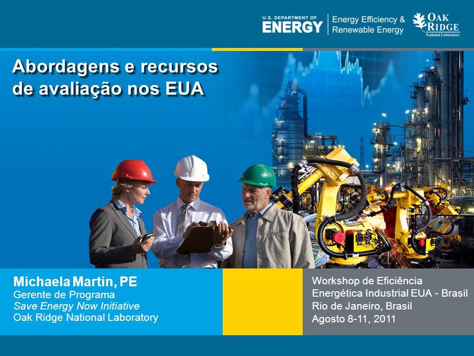 12 | Eficiência Energética Industrialeere.energy.gov Padrões de avaliação do sistema ASME Desenvolvidos por especialistas em energia de empresas de serviços públicos, da indústria, do Departamento de Energia dos EUA, dos IACs de universidades, de laboratórios nacionais e de organizações de consultoria dos Estados Unidos.