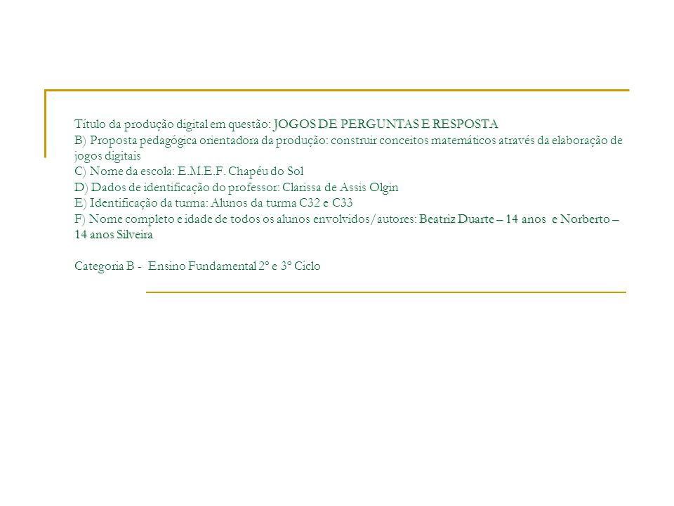 28)Determine do polinômio a seguir - x² - 18x - 72- x² - 18x + 72 - x² + 18x - 72 Desenvolvido por Norberto Silveira e Beatriz Duarte (-x + 6).(x-12)