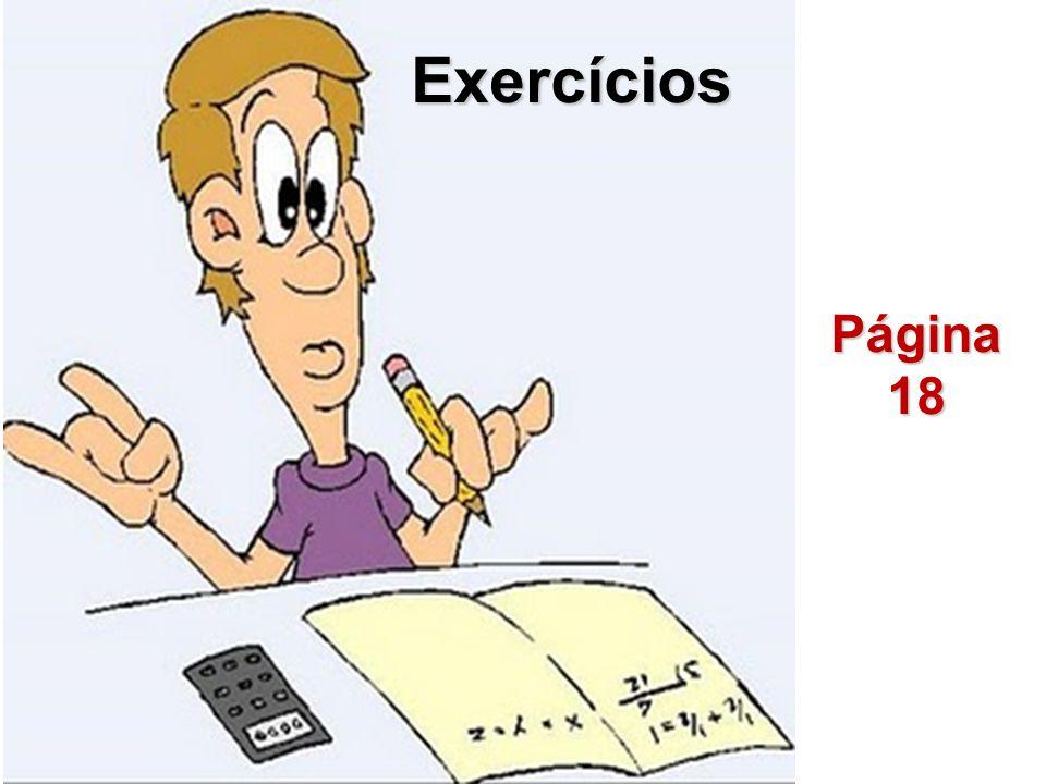 Exercícios Página18