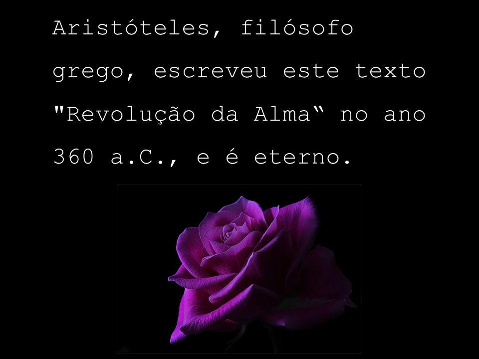 Revolução da Alma Aristóteles