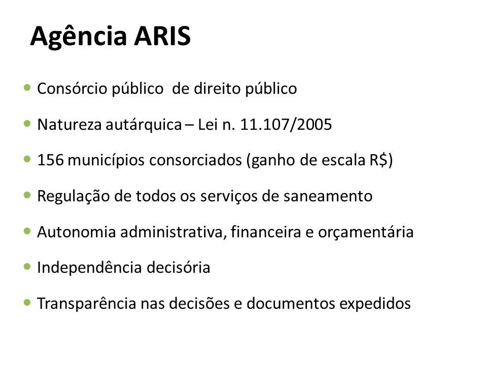 ARIS PRIVADO CONCESSIONÁRIA ESTADUAL (CASAN E SANEPAR) SAMAE DAE CENÁRIOS DE REGULAÇÃO PELA ARIS