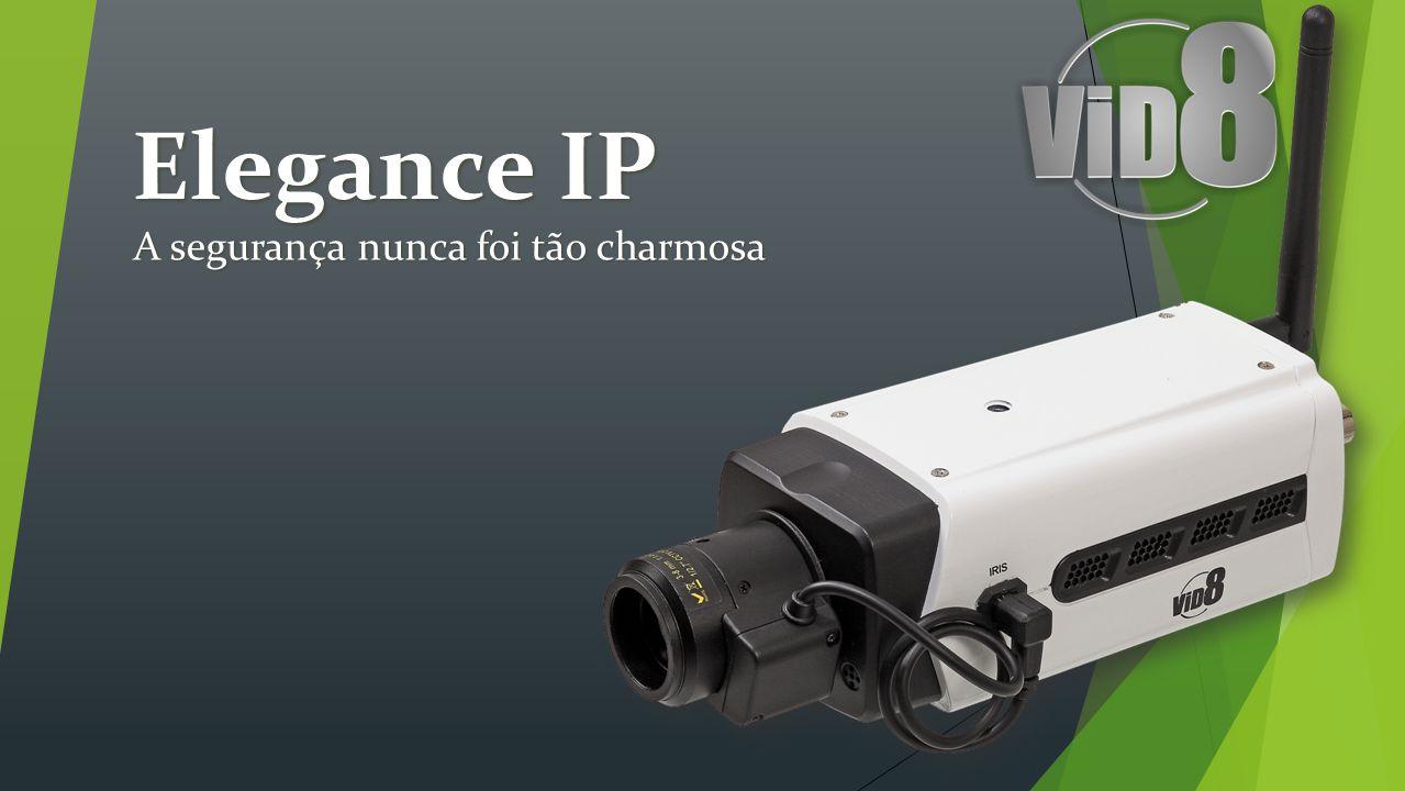 VCS-C10IP Resolução de 1 MEGAPIXEL; Resolução de 1 MEGAPIXEL; 3 Streamings para conexão; 3 Streamings para conexão; 30 Frames por segundo; 30 Frames por segundo; Protocolo ONVIF 2.1; Protocolo ONVIF 2.1; Áudio bi-direcional; Áudio bi-direcional; Conexão WiFi.