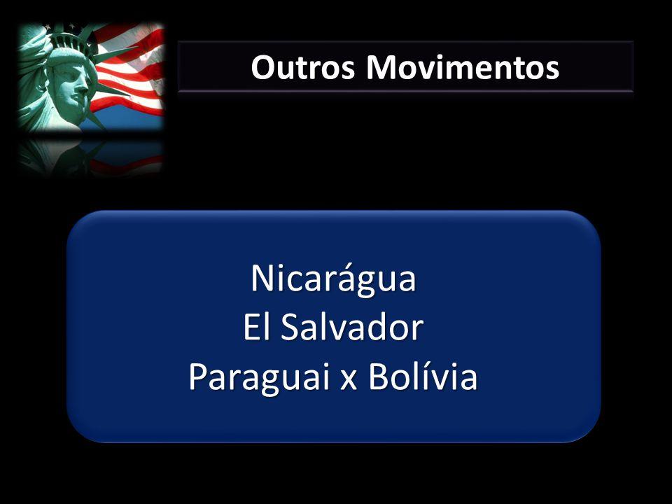 Nicarágua El Salvador Paraguai x Bolívia Nicarágua El Salvador Paraguai x Bolívia