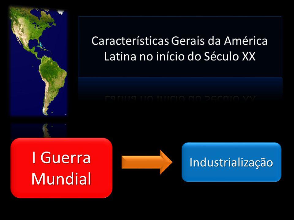 IndustrializaçãoIndustrialização I Guerra Mundial