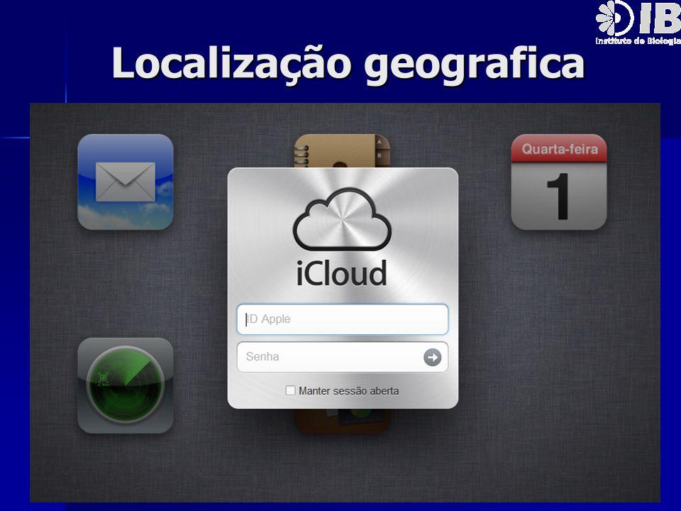Localização geografica Localização geografica