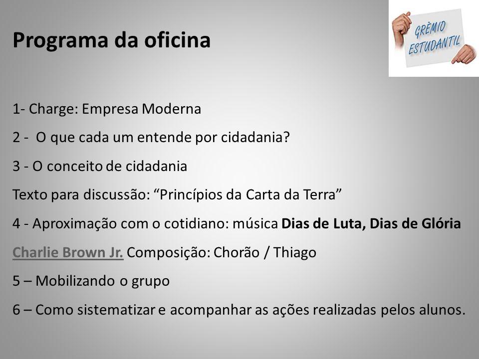 SUGESTÃO DE OUTRAS ATIVIDADES QUE PODERÃO SER REALIZADAS COM OS ALUNOS PARA FORMAÇÃO DAS CHAPAS.