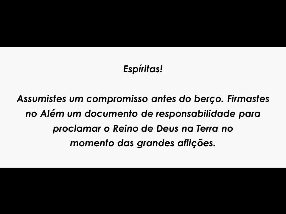 Muita paz, meus filhos, com todo o carinho, o servidor humílimo e paternal de sempre, Bezerra