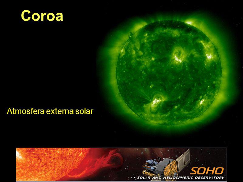 Coroa Atmosfera externa solar