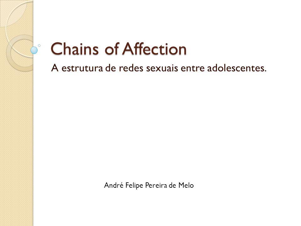 Chains of Affection A estrutura de redes sexuais entre adolescentes. André Felipe Pereira de Melo