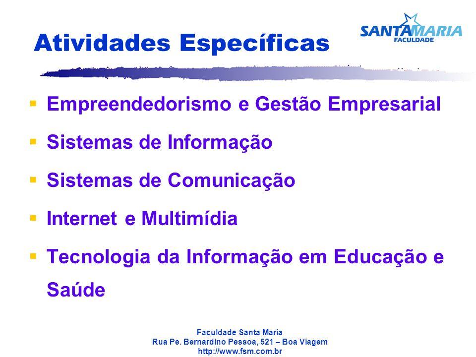 Faculdade Santa Maria Rua Pe.
