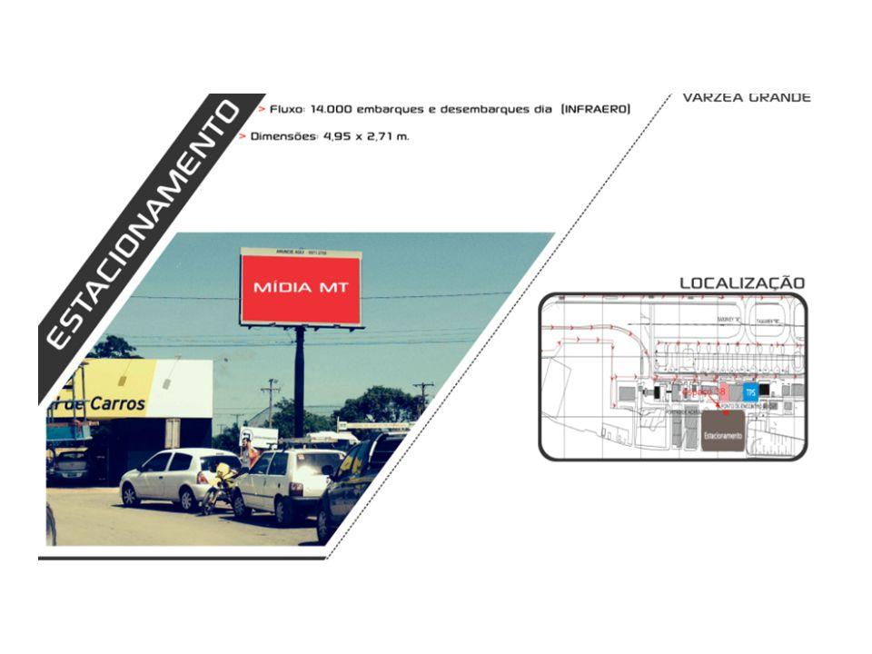 LOCALIZAÇÃO : AV MIGUEL SUTIL - SENTIDO : TREVO CENTRO DE EVENTOS (2) FORMATO : 9,00X 3,00