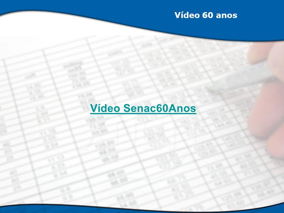 Vídeo 60 anos Vídeo Senac60Anos