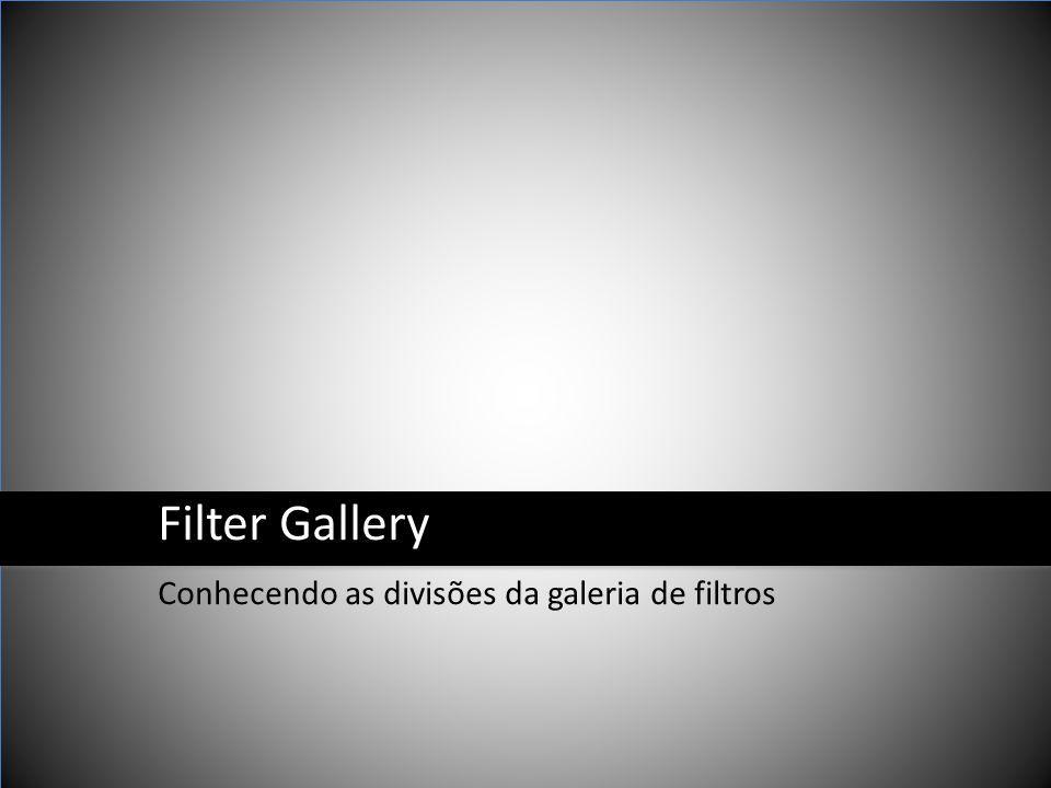 Filter Gallery Conhecendo as divisões da galeria de filtros