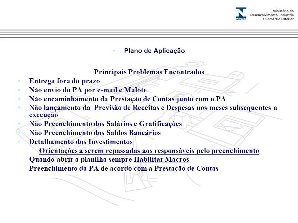Marca do evento Plano de Aplicação Contatos: Marinalva Ramaldes mmramaldes@inmetro.gov.br (21) 2145-3314 Paulo Altoé Loureiro paloureiro@inmetro.gov.br (21) 2145-3313
