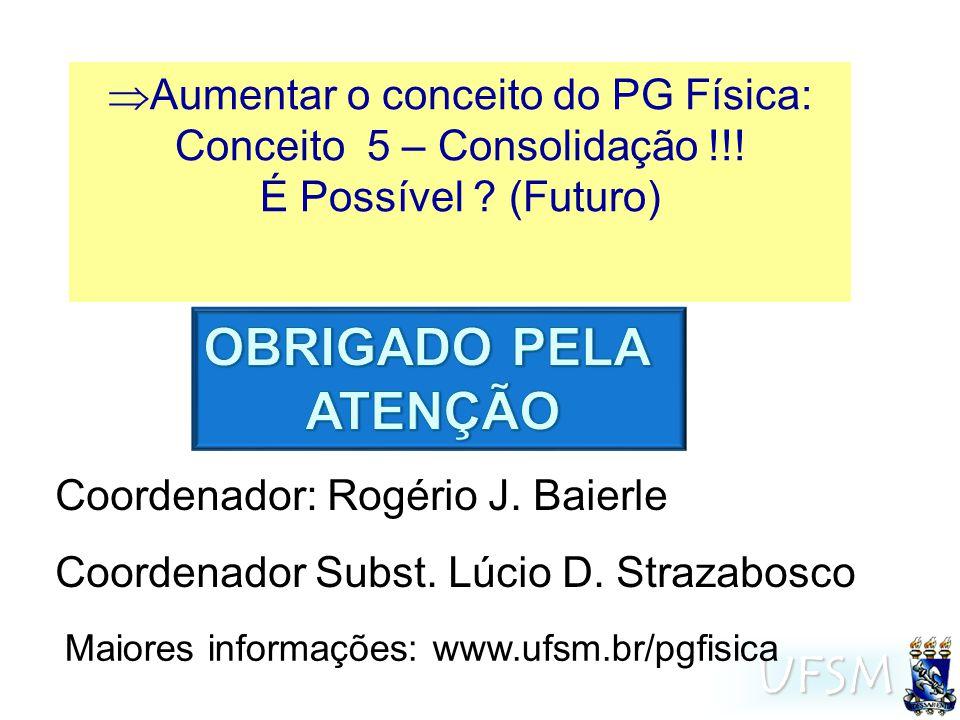 UFSM Coordenador: Rogério J.Baierle Coordenador Subst.