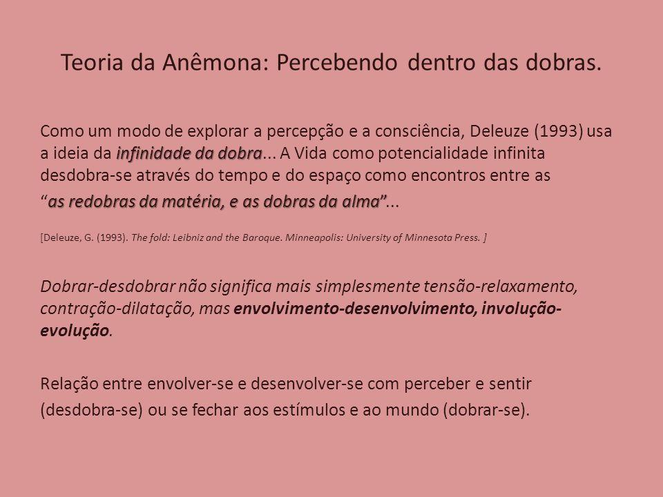 Teoria da Anêmona: Percebendo dentro das dobras.