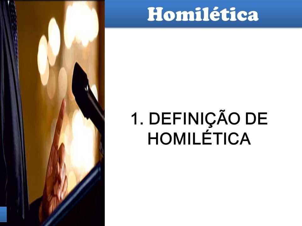 Hermenêutica Homilia pequeno discurso, com a finalidade de convencer 1.