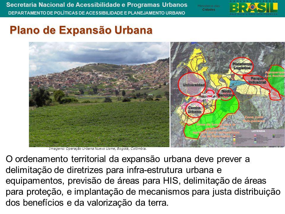 DEPARTAMENTO DE POLÍTICAS DE ACESSIBILIDADE E PLANEJAMENTO URBANO Secretaria Nacional de Acessibilidade e Programas Urbanos Imagens: Operação Urbana N