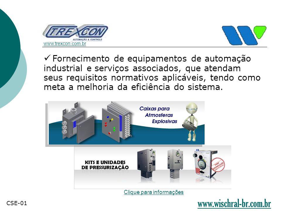 Fornecimento de equipamentos de automação industrial e serviços associados, que atendam seus requisitos normativos aplicáveis, tendo como meta a melho