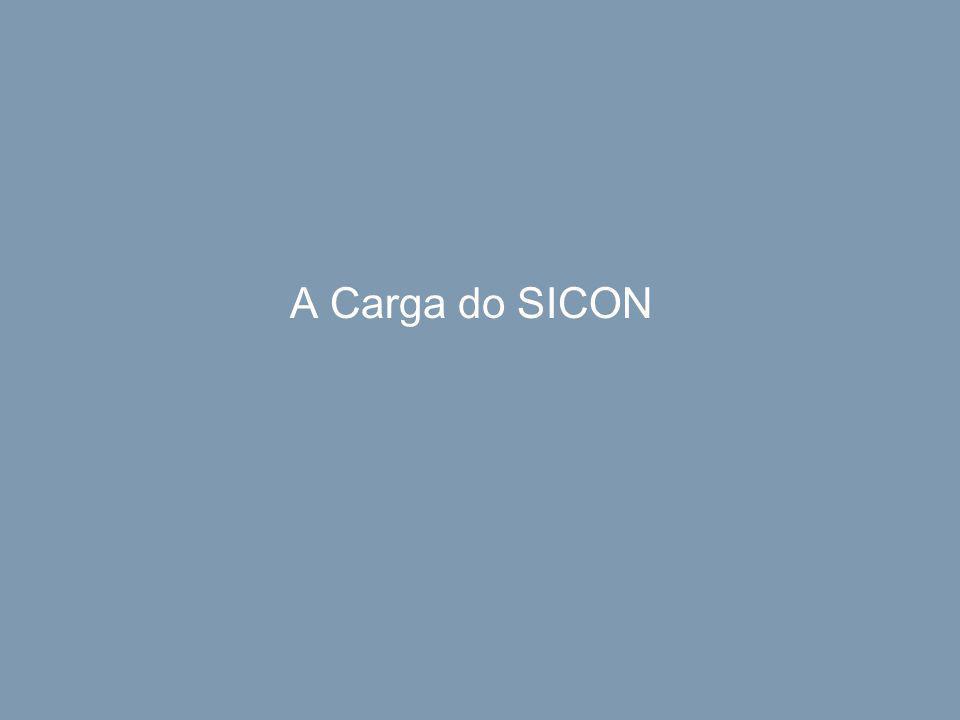 A Carga do SICON