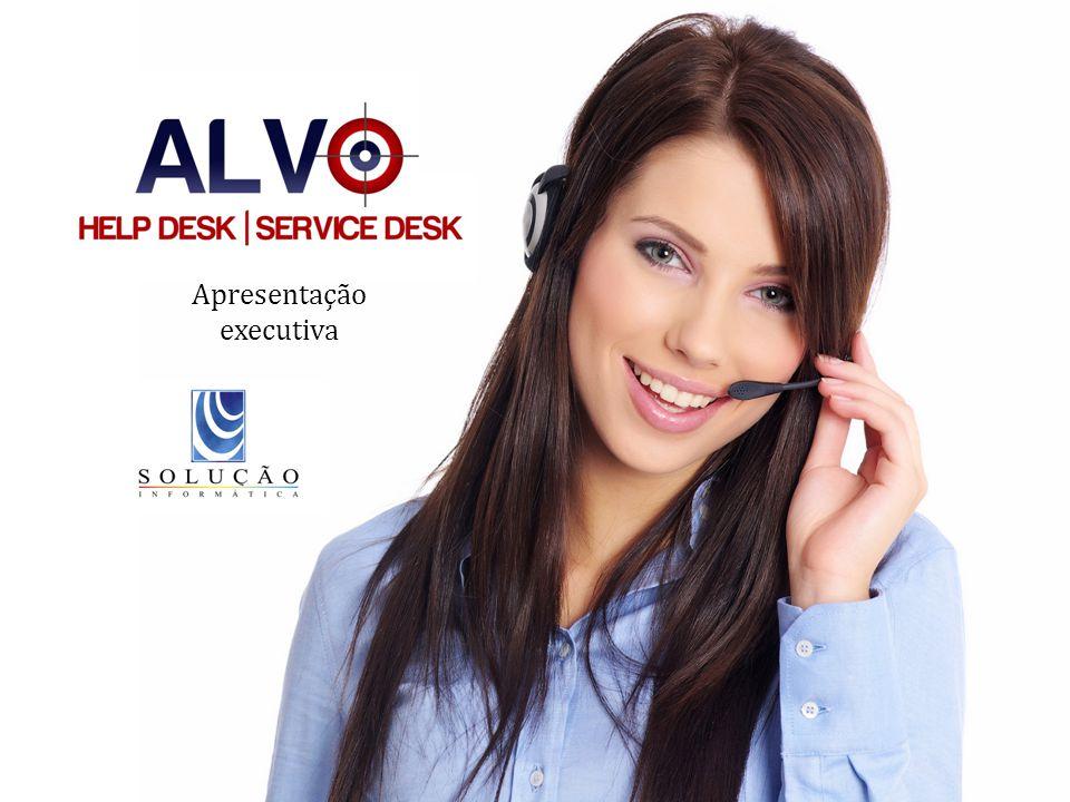 www.riosoft.com.br Apresentação Executiva – HELP DESK E SERVICE DESK O Alvo Help Desk e Service Desk permite cadastrar tipos de serviços que serão vinculados aos SLAs.
