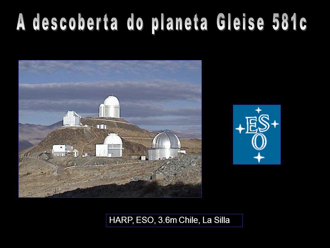 HARP, ESO, 3.6m Chile, La Silla