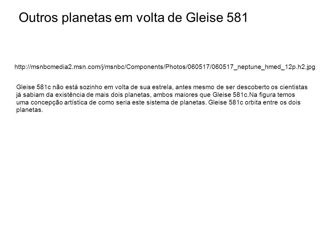 Outros planetas em volta de Gleise 581 http://msnbcmedia2.msn.com/j/msnbc/Components/Photos/060517/060517_neptune_hmed_12p.h2.jpg Gleise 581c não está
