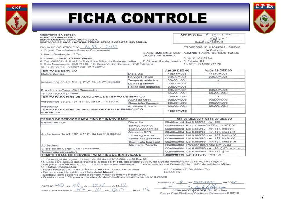 FICHA CONTROLE 7