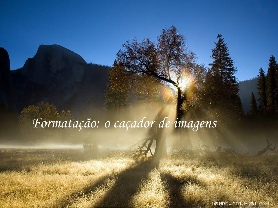 Ao faxineiro: os três maiores bem da vida são: a saúde, a paz de consciência e a oportunidade de serviço. 14ª URE – CFR de 26/11/2011