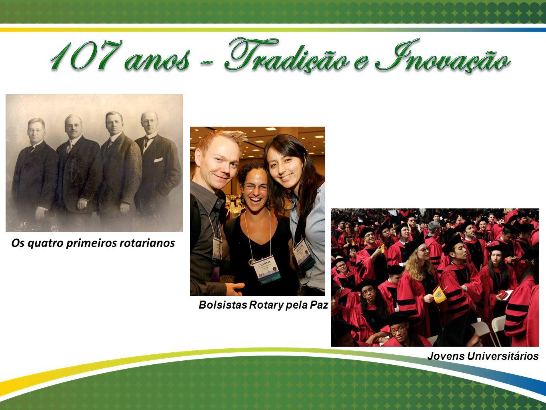 Coordenador do Rotary - 2010-2012 Gostaria que este ano marcasse o início de um Rotary mais verde para colorir a palidez de nossa organização ; um ano em que buscaremos associados mais jovens e novas gerações para dar vigor ao Rotary Kalyan Banerjee – Presidente RI 2011-12