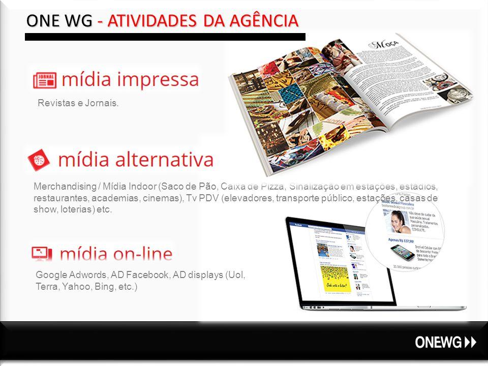 Revistas e Jornais.