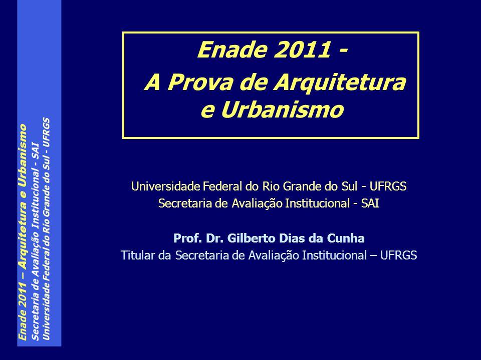 Universidade Federal do Rio Grande do Sul - UFRGS Secretaria de Avaliação Institucional - SAI Prof.