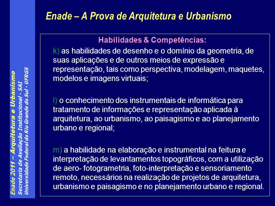 Conforme Diretrizes Curriculares dos curso de Arquitetura e Urbanismo, são considerados conteúdos curriculares básicos dos curso de Arquitetura e Urbanismo, a serem incluídos nos mesmos conforme as suas especificidades e perfil pretendido para o egresso: Conforme Diretrizes Curriculares dos curso de Arquitetura e Urbanismo da Resolução CNE no- 6/2006, são considerados conteúdos curriculares básicos dos curso de Arquitetura e Urbanismo, a serem incluídos nos mesmos conforme as suas especificidades e perfil pretendido para o egresso: I.