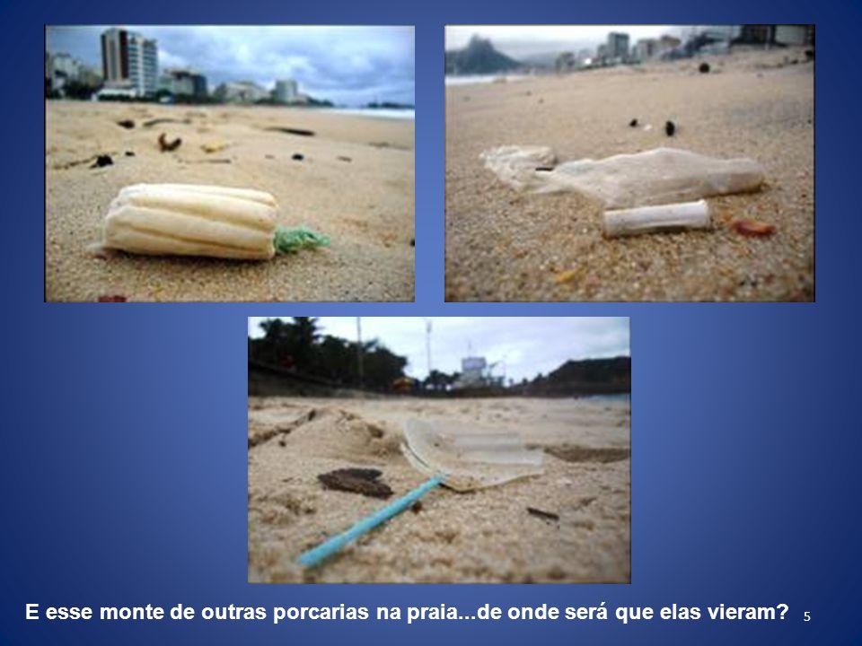 26 Mas, espera que vai piorar: Não bastasse o Emissário de Ipanema, há os clones da Barra, e de Icaraí.