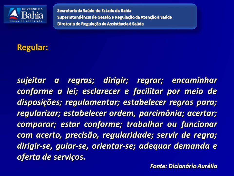 Regular: sujeitar a regras; dirigir; regrar; encaminhar conforme a lei; esclarecer e facilitar por meio de disposições; regulamentar; estabelecer regr