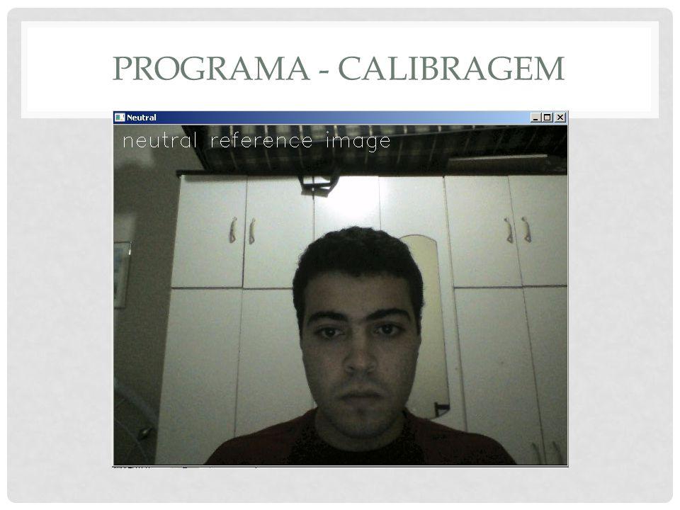 PROGRAMA - CALIBRAGEM