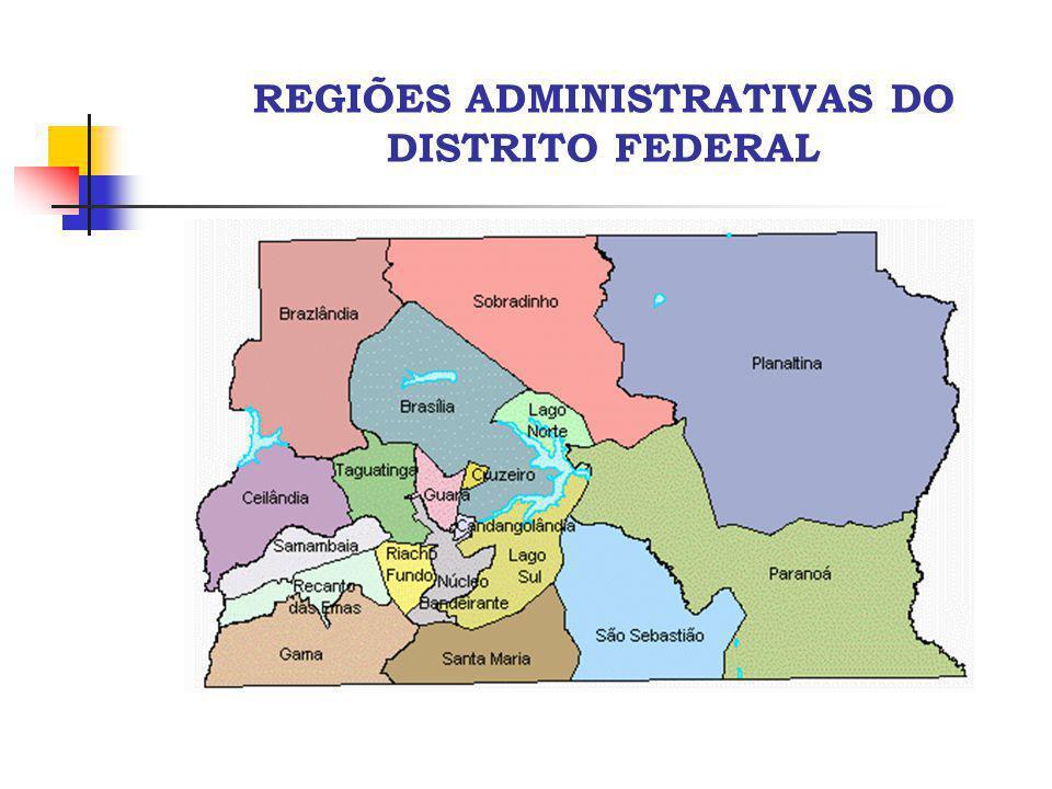REGIÃO INTEGRADA DE DESENVOLVIMENTO DO DISTRITO FEDERAL E ENTORNO - RIDE Distrito Federal Município de Goiás Município de Minas Gerais Sede do Município Município não incluído no Decreto nº 2.710