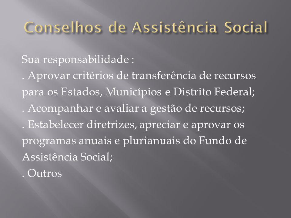  Sistema Único de Assistência Social - 2003  Construção da Política Nacional de Assistência Social – 2004  Tipificação Nacional de Serviços Socioassistenciais