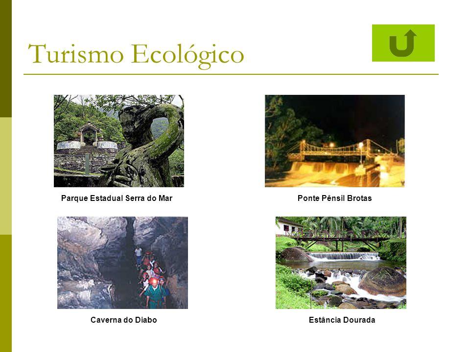 Turismo Ecológico Parque Estadual Serra do MarPonte Pênsil Brotas Estância DouradaCaverna do Diabo